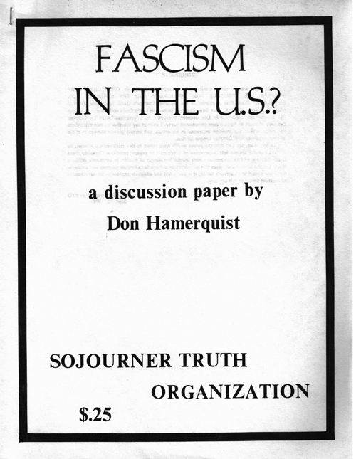 Fascism In The U.S.?