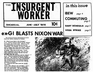 Insurgent Worker - June-July 1972