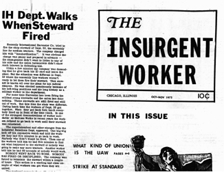 Insurgent Worker - Oct-Nov 1972