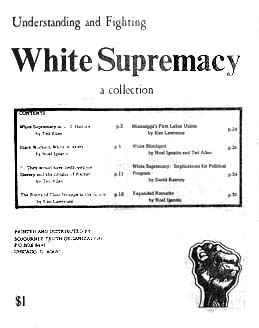 essays on white supremacy